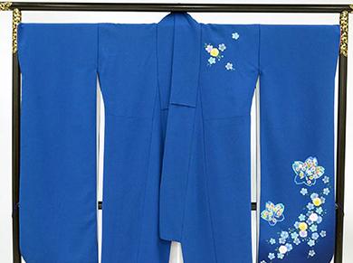 011(紺色に桜)